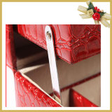 Produits de beauté en bois en cuir /Jewellery empaquetant la valise