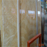 表面の静脈の中国の黄色い蜂蜜のオニックス大理石