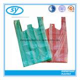 Heißer Verkaufs-haltbare Shirt-PlastikEinkaufstasche