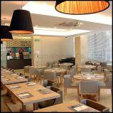 A mobília de madeira do restaurante da cadeira de tabela do jantar do hotel ajustou-se (SP-CS105)