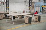 T-geformter moderner Büro-Partition-Arbeitsplatz (FA-2T)