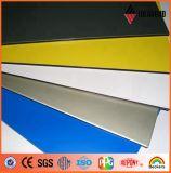 Панель нутряного украшения множественного покрытия полиэфира цвета алюминиевая (AE-36A)