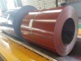 Folha da bobina PPGI e bobina de aço galvanizadas Pre-Painted