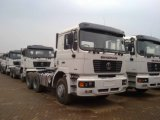 Camion d'entraîneur de Shacman F2000 Delong 6X4 pour l'Algérie