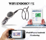 Witson Wireless Snake Scope Câmera endoscópica Handheld Borescope WiFi Connect no iPhone iPad Android (W3-CMP3813WX)