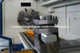 Труба CNC продевая нитку цену Qk1335 машины Lathe с челюстью 4