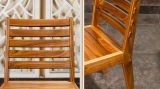 固体木の椅子(M-X2131)