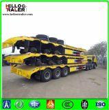 Gooseneck resistente dell'Tri-Asse da 60 tonnellate della base del camion rimorchio basso idraulico semi