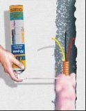 Flammhemmender Spray PU-Schaumgummi für Dekoration und Aufbau