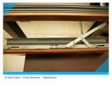Finestra di alluminio della stoffa per tendine dello schermo termico