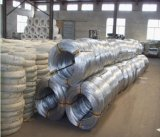 O material de construção galvanizou o fio do ferro/fio obrigatório galvanizado Bwg18 para a construção