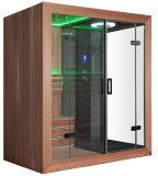 Sauna européia luxuosa do estilo de Monalisa e quarto combinado vapor (M-6035)