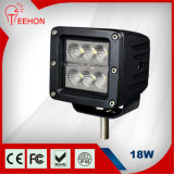 "高品質3 "" Ce/FCC/RoHS/IP68の18W Waterproof LED Light"