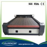 1325 1610 1390년 Laser 기계 자동적인 직물 절단기 가격
