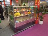 Showcase refrigerando de alta velocidade do refrigerador do indicador do bolo para o supermercado