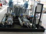 Estación de servicio industrial del gas natural del compresor