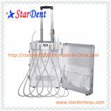 Unidade dental portátil de equipamento cirúrgico do laboratório médico do hospital (sistema de controlo eletrônico)