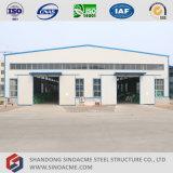 Полуфабрикат стальная структура здания для пакгауза