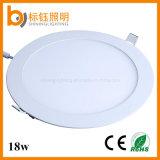 Освещения круглый тонкий 18W СИД люмена AC85-265V свет панели потолка высокого крытого