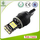 Heiße Birne T20 7443 des Verkaufs-15SMD 3535chip des Auto-LED