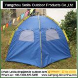 La prova sana Doube mette a strati la tenda automatica di campeggio di esagono della famiglia