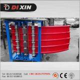 Dx는 착색한 강철 플레이트 각인 기계를 활 모양으로 했다