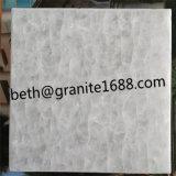 中国の製造者の水晶白い大理石のタイル