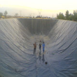 HDPE Waterproofing Geomembrane do forro da lagoa da membrana
