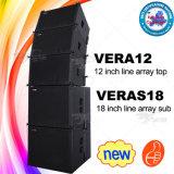 Apparatuur van DJ van het Systeem van de Serie van de Lijn van Skytone Vera12 van de Leverancier van Guangzhou de PRO Audio