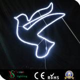 LED-Motiv-hängende Weihnachtsseil-Motiv-Schneeflocke-Lichter