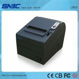 U80II 80mm 3개의 공용영역 USB 연속되는 이더네트 고속 POS 열 인쇄 기계 영수증 인쇄 기계