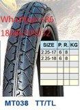 Neumático 70/90-17 80/90-17 de la motocicleta