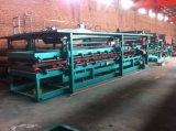 Automatische ENV-und Felsen-Wolle-Zwischenlage-Panel-Rolle, die Maschine bildet