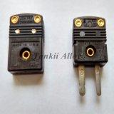 黒い色度標準/小型熱電対コネクター(J)タイプ
