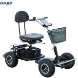 단일 좌석 쉬운 폴딩 강한 힘 24V 1000W 모터를 가진 전기 골프 카트