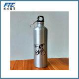 Frasco de alumínio feito sob encomenda da garrafa de água de alumínio do Sublimation