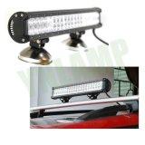 barra ligera campo a través del CREE LED de 126W 22.5inch IP67 para el carro