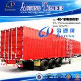 2-3 차축 35-60t 밴 유형 반 상자 화물 수송기 트레일러 (LAT9340XXY)