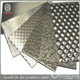 中国の製造者の2側面を浮彫りにするための波形のステンレス鋼シート
