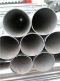 Tubo d'acciaio galvanizzato del TUFFO caldo con le protezioni della plastica e dell'estremità filettata
