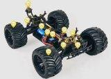 1/10 дистанционных управлений автомобиля 4WD маштаба электрических RC безщеточных (чернота)