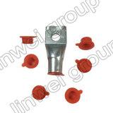 Inserção de levantamento de borracha do furo transversal da tampa nos acessórios do concreto de pré-fabricação (M12X50)