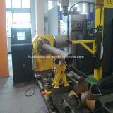 machine de découpage de pipe de plasma de la commande numérique par ordinateur 5-Axis avec le découpage taillant
