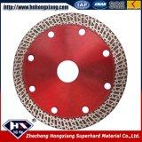 Lâmina de serra de diamante sinterizada Ultra Thin Turbo para mármore