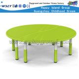 幼稚園の教室の家具の子供のプラスチック表は表一定Hc-1801を結合した