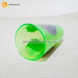 vetro verde chiaro nero della pinta 480ml con la decalcomania della stagnola