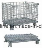 金属の鋼鉄記憶のEquipentの倉庫ワイヤーケージ(800*600*640)