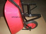 Wheelbarrow Wb7500 da construção da cor 75L vermelha