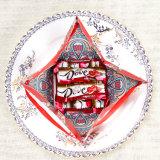 De creatieve Doos van de Gift van de Producten van het Huwelijk Zoete, de Doos van de Gift van het Suikergoed van de Stijl van de Piramide