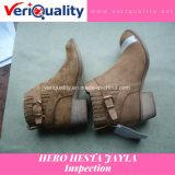 De betrouwbare Dienst van de Inspectie van de Kwaliteitsbeheersing voor de Laars van Hesta Jayla van de Held in Wenzhou, Zhejiang